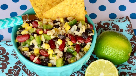 mexican bean and rice salad review by kym cox surridge
