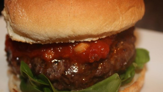 Photo of Simple Lasagna Burgers by scheffdawg