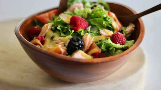 Summer Berry Salad with Salmon Recipe