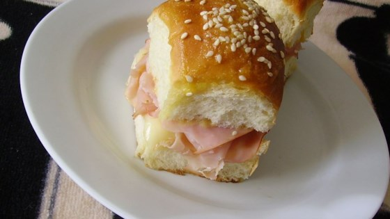 Photo of Jen's Mini Ham and Cheese Rolls by My4boys