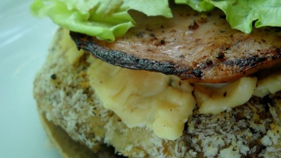 Photo of Gourmet Gouda Turkey Burgers by Tanya Petkos Schroeder