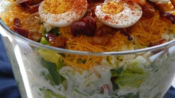 Photo of Twenty Four Hour Layered Salad by Heather