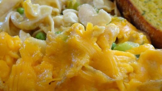 Crab Noodle Casserole