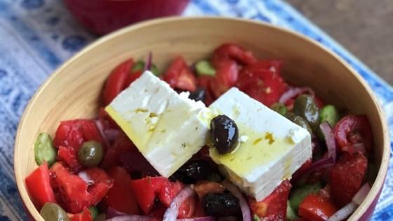 greek horiatiki salad review by jr rencher
