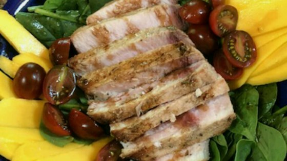 Photo of Grilled Swordfish Salad by paul r.