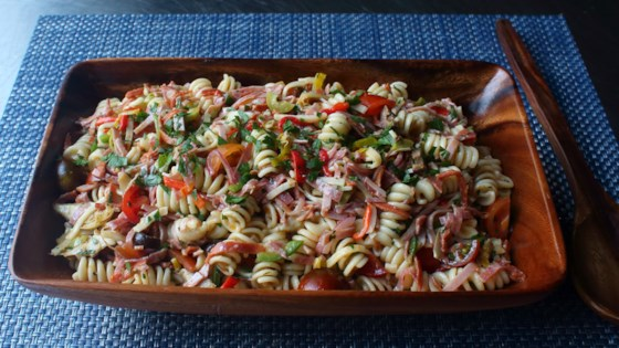 chef johns antipasto pasta salad review by suzanne baruch
