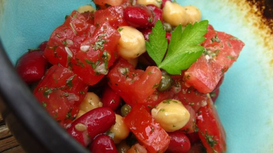 Photo of Mediterranean Bean Salad by sourdough girl