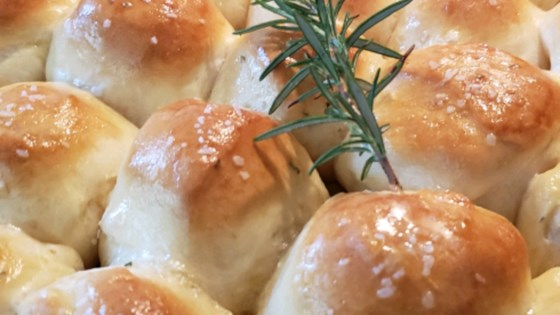 Rosemary Pull Apart Dinner Rolls Recipe Allrecipes Com