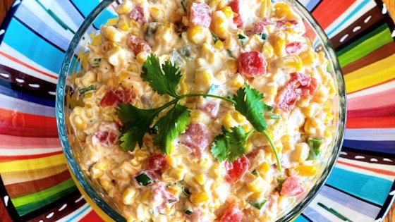Photo of Spicy, Creamy Corn Salsa by Yoly