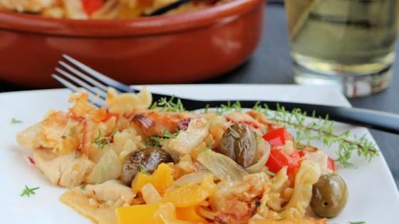 Photo of Mediterranean Chicken and Pepper Casserole by Buckwheat Queen
