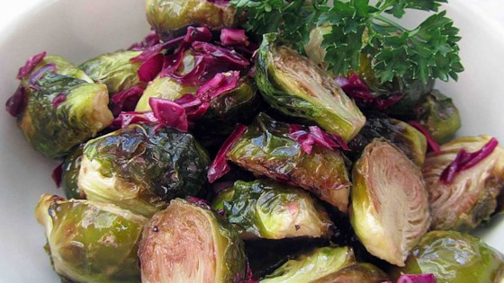 Photo of Brussels Sprouts Salad by Nancy  Korondan