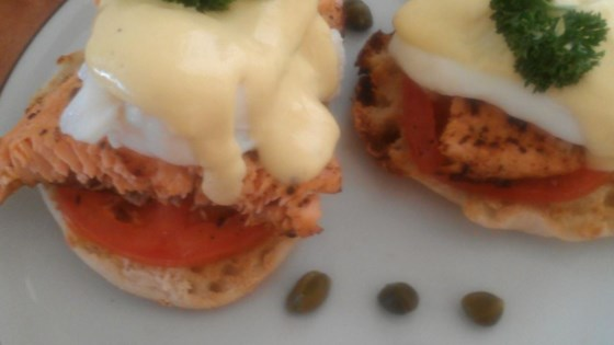 Photo of Eggs Benedict with Salmon by dakota kelly