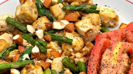 Photo of Air Fryer Vegan Tofu and Asparagus Scramble by Diana71