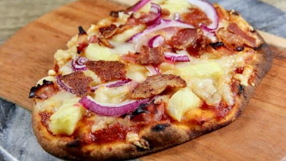 Mini Naan Hawaiian Pizza Recipe
