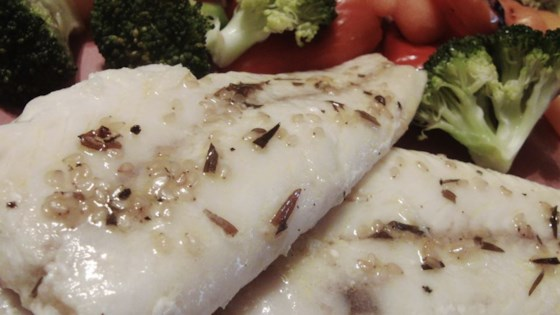 Photo of Broiled Sesame Cod by Lisa Harmon
