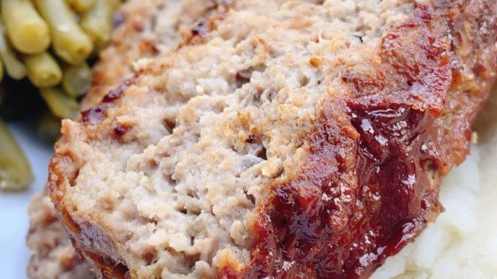 Photo of Turkey-Beef Meatloaf by Pete