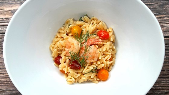 Photo of Shrimp and Orzo Salad by Uzo Orimalade