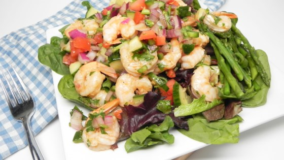 Photo of Gazpacho Salad with Shrimp by Amy Brolsma