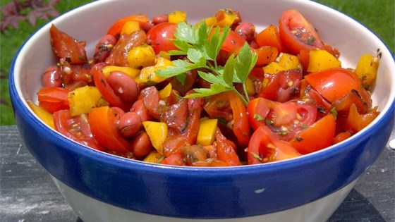 Photo of Sweet Pepper Balsamic Bean Salad by Kathy Miller