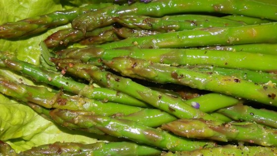 Photo of Zesty Marinated Asparagus by KNITMAMA