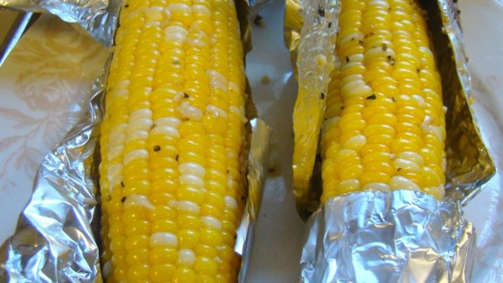 Photo of Garlic Lover's Grilled Corn by Janine
