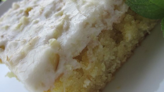 White Texas Sheet Cake Allrecipes