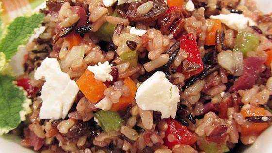 Photo of Mediterranean Brown Rice Salad by Anne