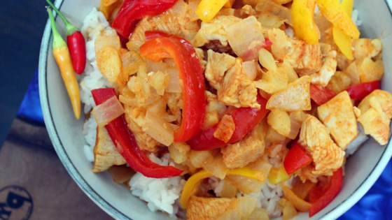 thai red chicken curry with pineapple review by chef mo