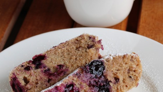 Photo of Vegan Blueberry-Banana Bread by Jill Senger Stadler