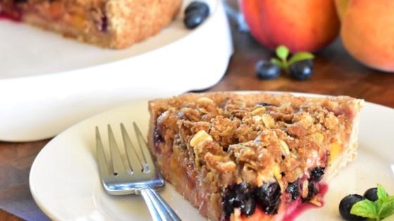 Photo of Peach-Blueberry Streusel Tart by Kim
