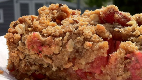 Photo of Ginger Rhubarb Crisp by beetgreens