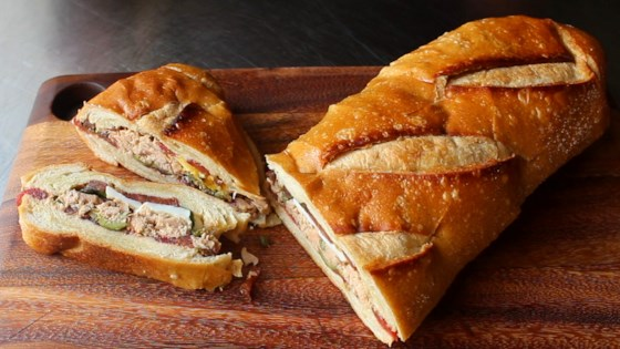 Photo of Pan Bagnat (Pressed French Tuna Sandwich) by Chef John