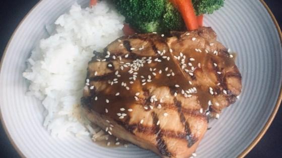 Photo of Grilled Teriyaki Pork Chops by Bibi