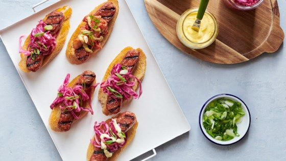 Photo of Vegetarian Build-Your-Own Brat Bar by Pure Farmland