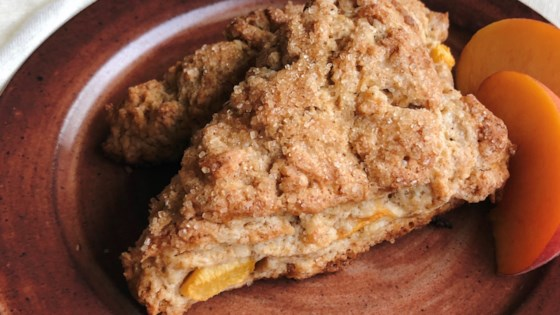 Photo of Peach Scones by LauraF