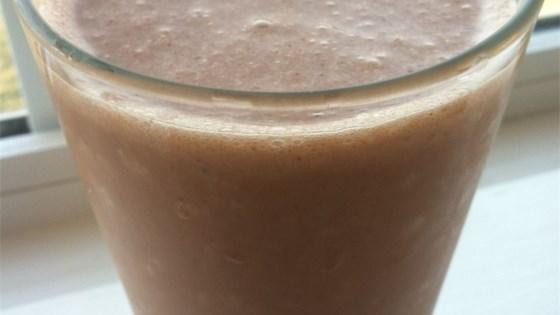 Lighter Chocolate Milkshake