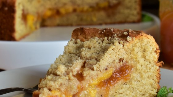 Peach Jam Coffee Cake Recipe