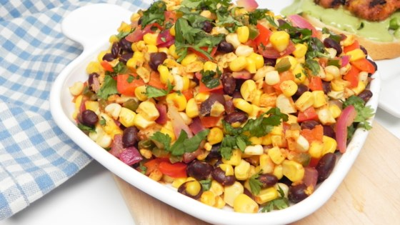 Photo of Southwestern Corn and Black Bean Skillet by Soup Loving Nicole