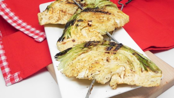 Photo of Grilled Cabbage Wedges by BaillysMom