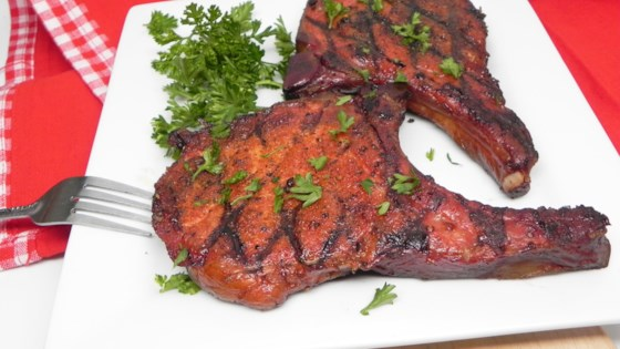 Photo of Smoked Pork Chops by Soup Loving Nicole