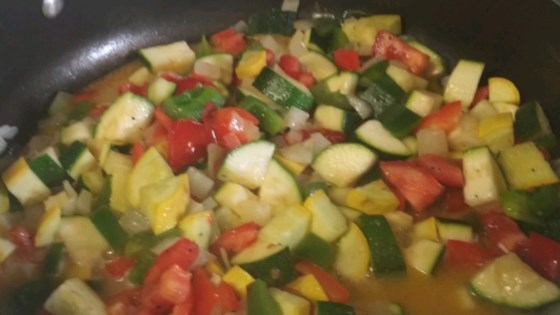 tomato zucchini squash skillet review by gderr the dysfunctional