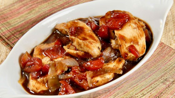 Photo of Grilled Chicken Breasts with Balsamic Sauce by whitney