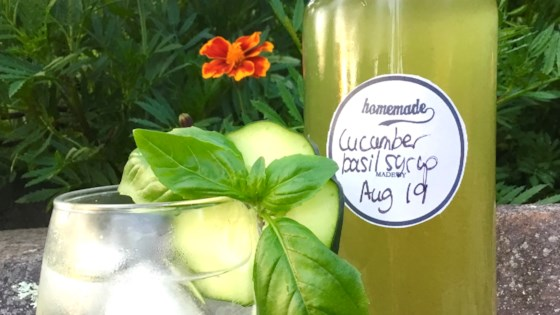 Photo of Cucumber-Basil Syrup by nch