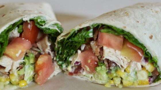 Photo of Grilled Chicken BLT Wraps by James Roos