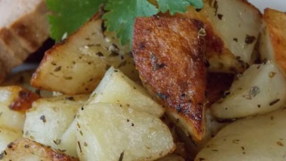 Roasted Rosemary Onion Potatoes Recipe