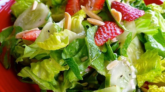 Photo of Easy and Quick Strawberry Summer Salad by sengalindsay