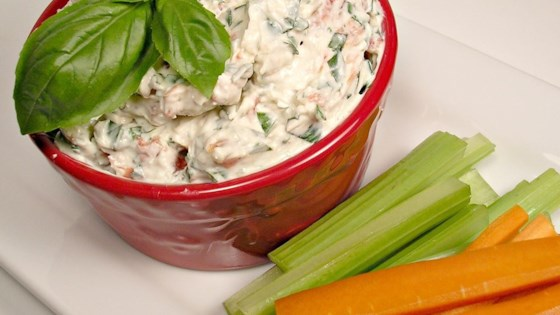 Photo of Summer Fresh Tomato Basil Dip by Challena