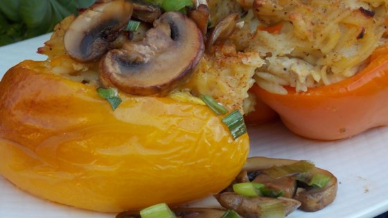 Photo of Orzo and Chicken Stuffed Peppers by Luv2Cook4Her