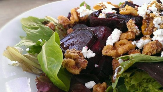 Photo of Beet Salad with Goat Cheese by Donna