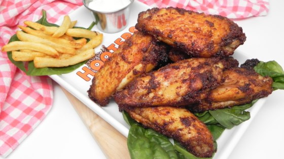spicy air fryer wings review by soup loving nicole
